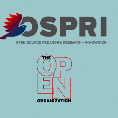 OSPRI and the Open Organization logos