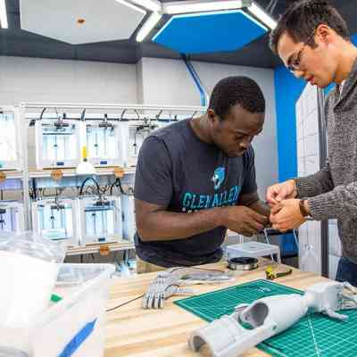 Duke seniors Richard Beckett-Ansa and Henry Warder co-founded the eNABLE chapter, which makes prosthetics using 3D printers.